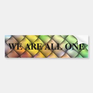 We are all one bumper sticker