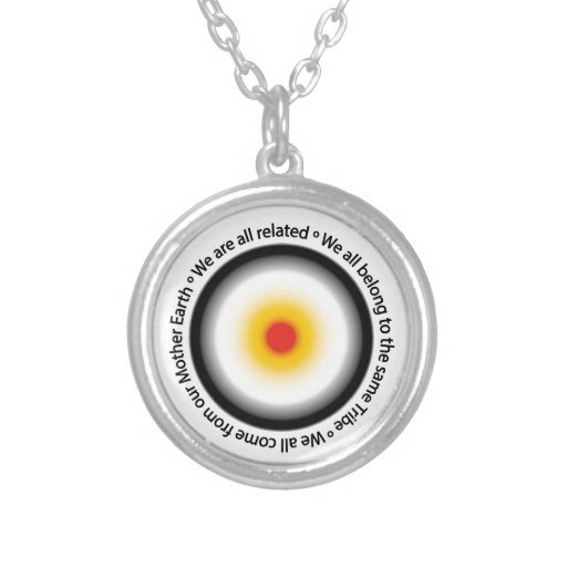 We are all related personalized necklace