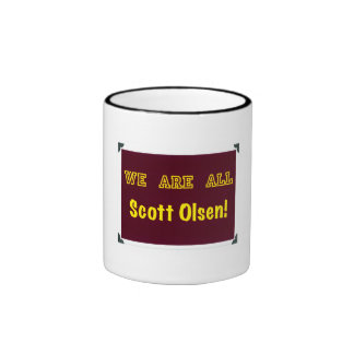 We Are All Scott Olsen! Ringer Mug