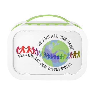 We are all the same lunch box