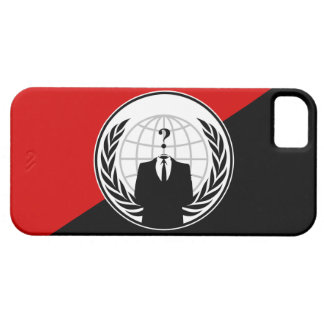 We Are Anonymous Anarchist Flag Case For The iPhone 5