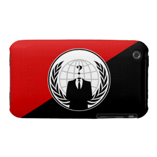 We Are Anonymous Anarchist Flag Case-Mate iPhone 3 Case