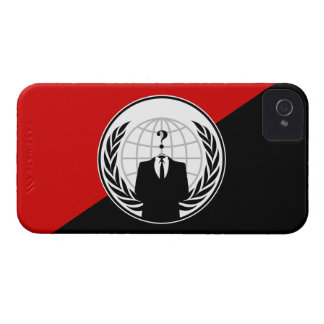 We Are Anonymous Anarchist Flag iPhone 4 Case-Mate Case