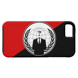 We Are Anonymous Anarchist Flag iPhone 5 Covers