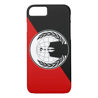 We Are Anonymous Anarchist Flag iPhone 7 Case