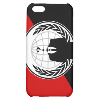 We Are Anonymous Anarchist Flag iPhone 5C Case