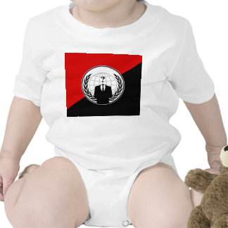 We Are Anonymous Anarchist Flag T Shirt