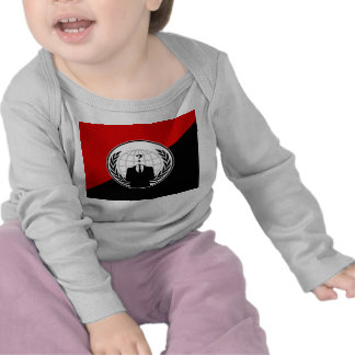 We Are Anonymous Anarchist Flag T-shirts