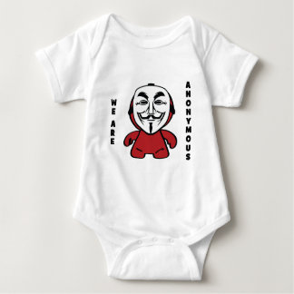 We Are Anonymous Baby Bodysuit