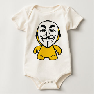 We Are Anonymous Baby Bodysuits