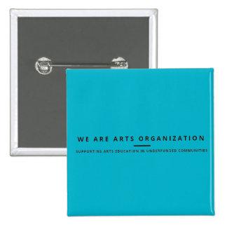We Are Arts Pen 15 Cm Square Badge