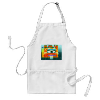 We are conditioned by everything, consciously 2 standard apron