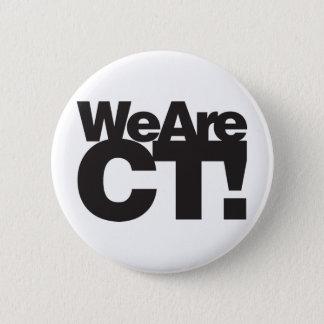 We Are Connecticut 6 Cm Round Badge