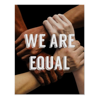 We Are Equal Poster
