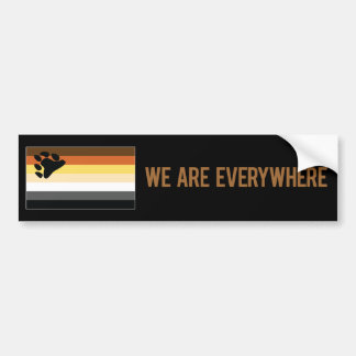 We Are Everywhere sticker (Bear)