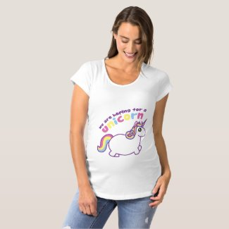 We Are Hoping for a Unicorn Maternity Shirt