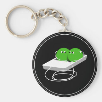 We Are Like Two Peas In A Pod Key Ring