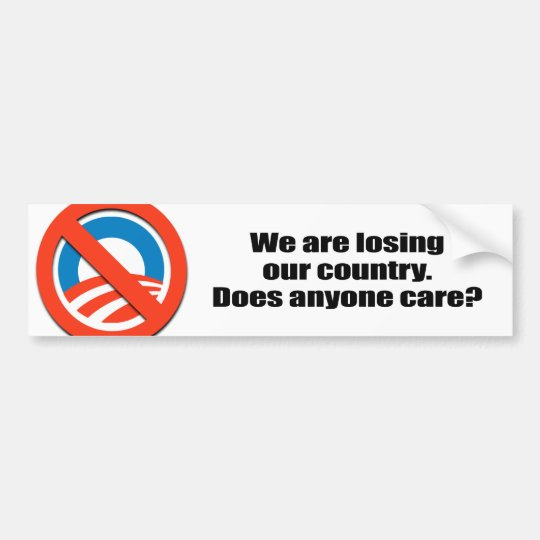 We are losing our country - Does anyone care Bumper Sticker