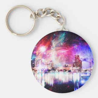 We are Love Orlando Basic Round Button Key Ring