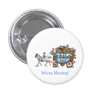 We are Moving Stage Coach Button
