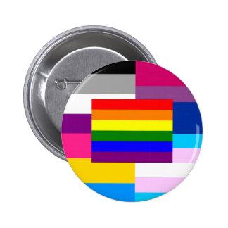 We are one! 6 cm round badge
