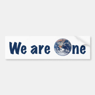 We are One - Bumper Sticker