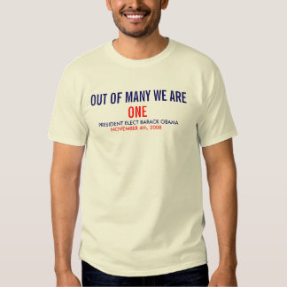 WE ARE ONE - NTL T SHIRT