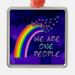 We Are One People Christmas Ornaments