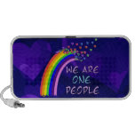 We Are One People iPhone Speaker
