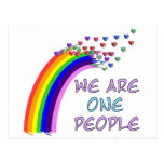 We Are One Postcard