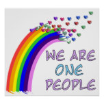 We Are One Posters