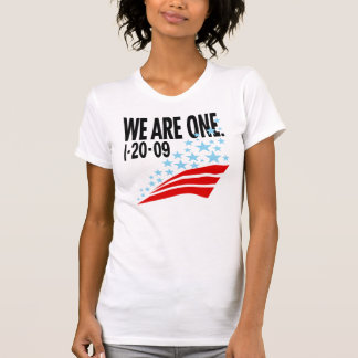 We Are One Tee Shirt