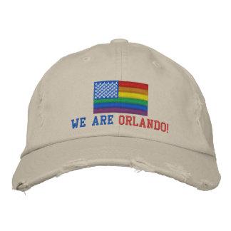 WE ARE ORLANDO! Custom Distressed Baseball Cap