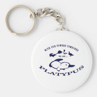 We are Platypus Key Chain