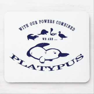 We are Platypus Mouse Mat