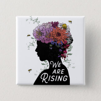 We Are Rising - Button