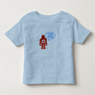 We are robots t-shirt