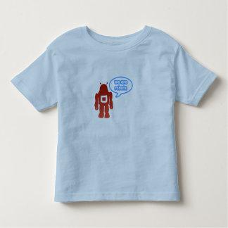We are robots tshirts