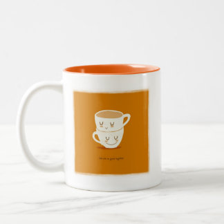We are so good together Two-Tone coffee mug