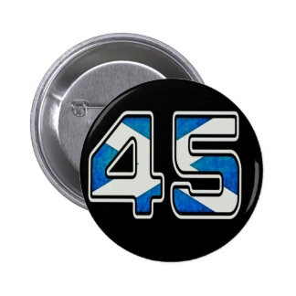 We Are The 45% Badge (dark) Pins
