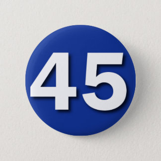 We Are The 45% Badge (Scotland Indyref)