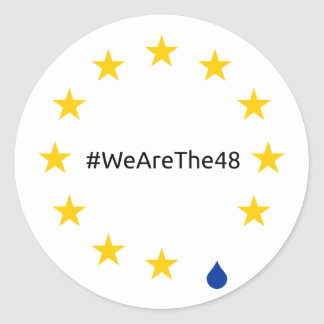 We are the 48%, sticker