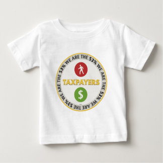 We Are The 53% Taxpayers Baby T-Shirt