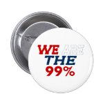 WE ARE THE 99% 6 CM ROUND BADGE