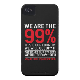 We are the 99 - 99 percent occupy wall street blackberry cases