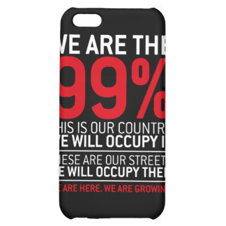 We are the 99 - 99 percent occupy wall street iPhone 5C cases