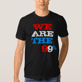 We are the 99% by XSTITCHESX Tees