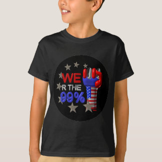 We are the 99 fist on 30 items tshirt