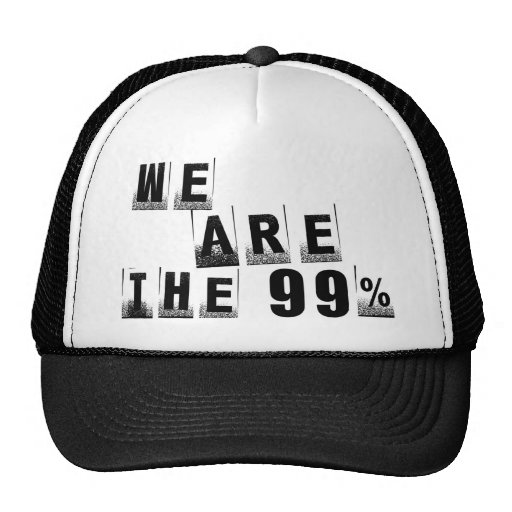 We Are The 99% Mesh Hat