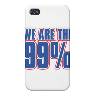 we are the 99% in the United States iPhone 4 Covers